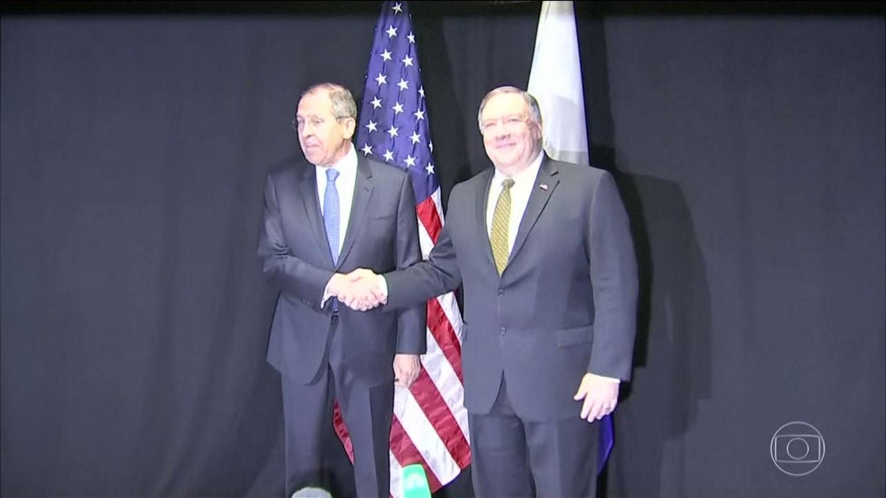 Estados Unidos e Rússia discutem crise na Venezuela