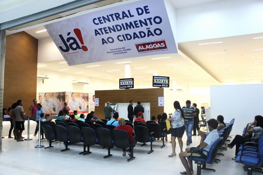 Central Já! de shopping em Arapiraca tem atendimento reduzido na quinta-feira