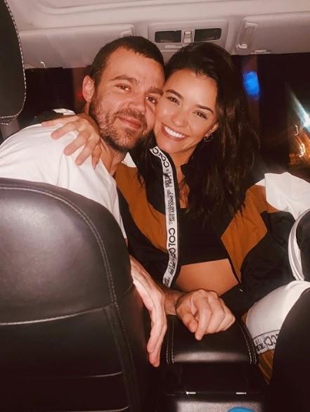 Talyta Younan e João Gomez (Foto: Reprodução)