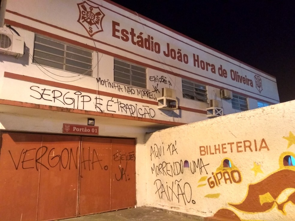 Estádio João Hora de Oliveira — Foto: Osmar Rios/GloboEsporte.com