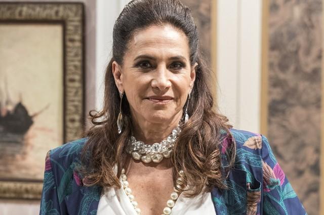 Totia Meireles é Mercedes (Foto: TV Globo)
