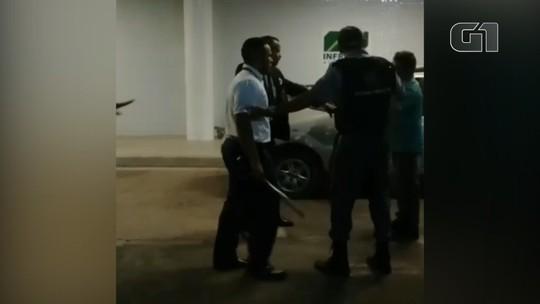 Sindicato e SMT apuram briga entre taxistas no aeroporto de Santarém