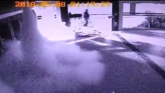 Dono de loja que também foi alvo do grupo que explodiu agências bancárias em Ipameri calcula prejuízo de R$ 40 mil