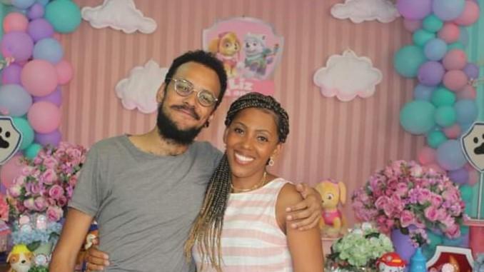 João Luiz e a irmã Ana Cecília (Foto: Arquivo pessoal)