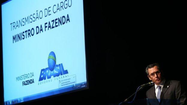Eduardo Guardia, ministro da Fazenda de Temer (Foto: José Cruz/Agência Brasil)