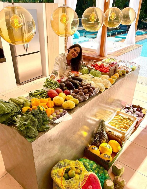 Mayra Cardi mostra dieta (Foto: Reprodução/Instagram)