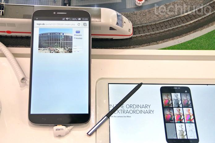 Hero 2 tem uma tela IPS Full HD de seis polegadas (Foto: Fabrício Vitorino/TechTudo)