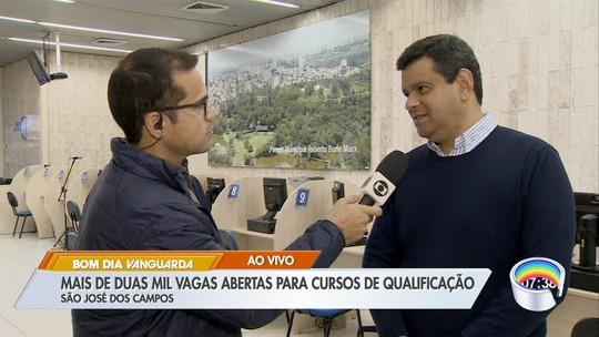 São José oferece mais de 2 mil vagas para cursos gratuitos de qualificação