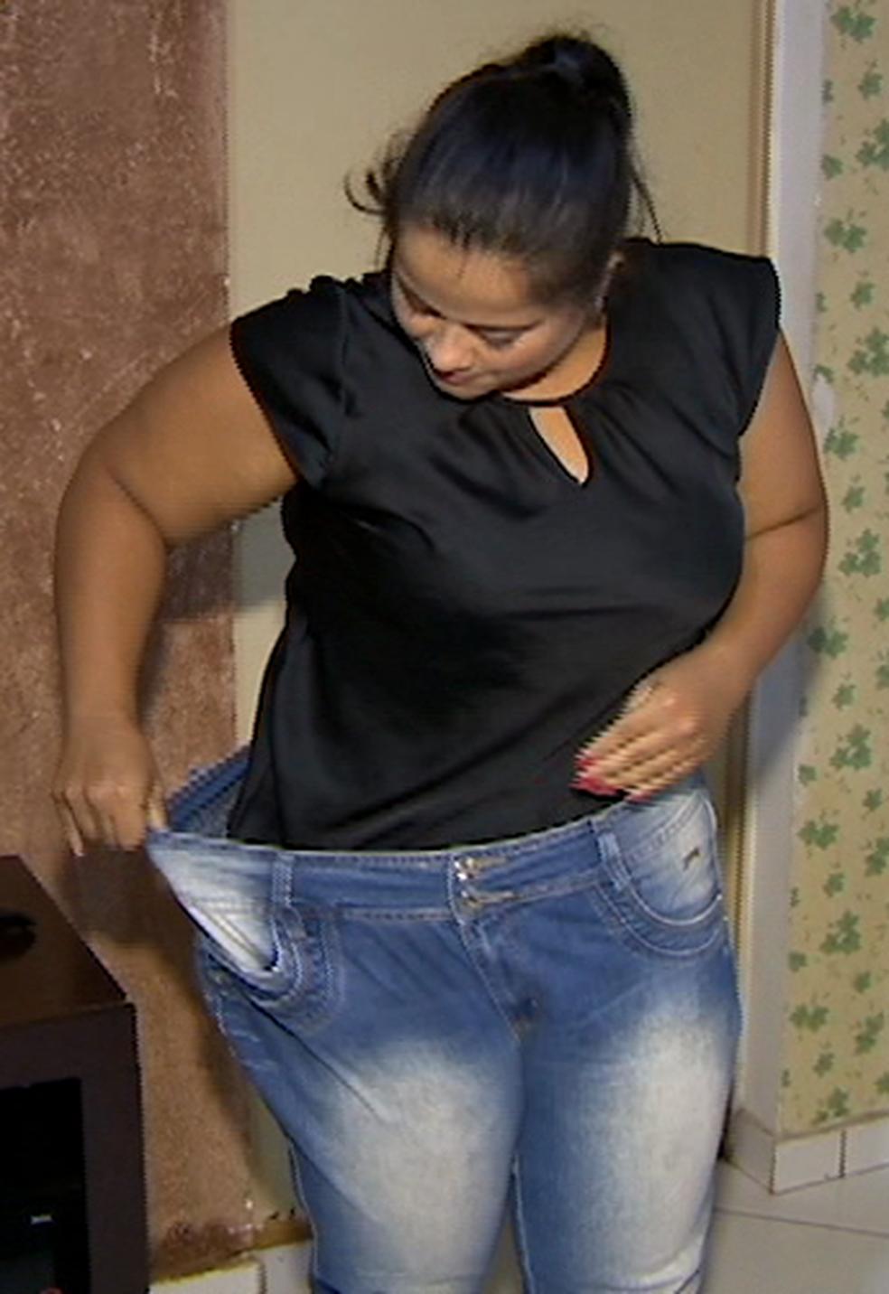 Jovem destaca melhoras físicas e para o espírito  (Foto: TV Fronteira / Reprodução)