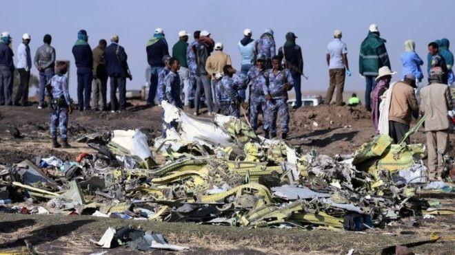 157 pessoas morreram no voo ET 302 da Ethiopian Airlines no último domingo (Foto: Reuters via BBC News Brasil)
