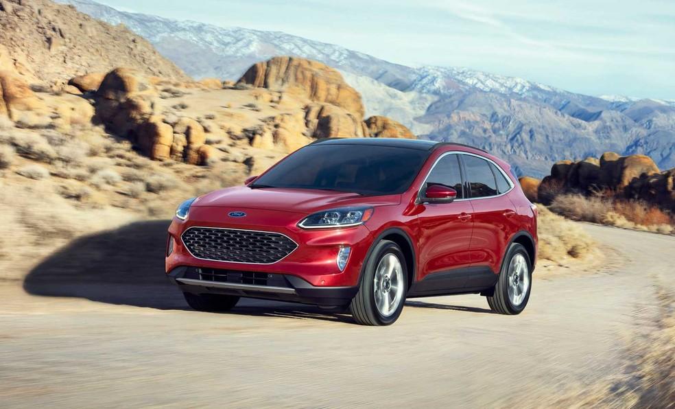 Ford Escape Hybrid está confirmado, mas só na versão Hybrid convencional — Foto: Divulgação