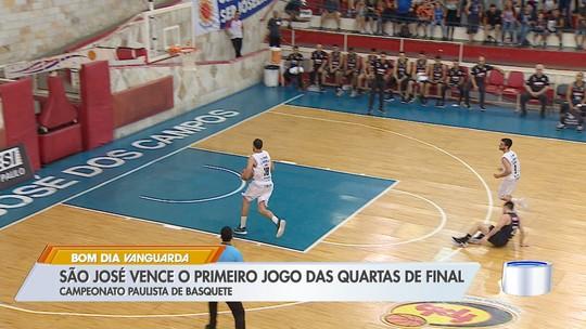 Sob o comando de Figueredo, São José bate Franca no primeiro duelo das quartas do Paulista