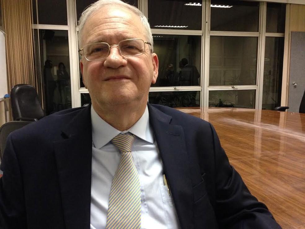Ex-reitor da USP, Marco Antonio Zago será secretário da Saúde de São Paulo (Foto: Ana Carolina Moreno/G1)