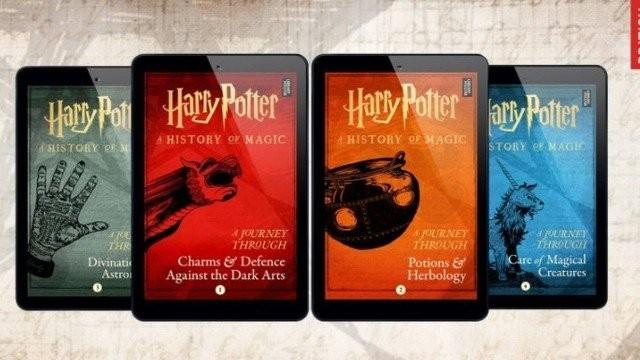Novos livros digitais de Harry Potter têm informações sobre as aulas de Hogwarts.  (Foto: Divulgação/ Pottermore)