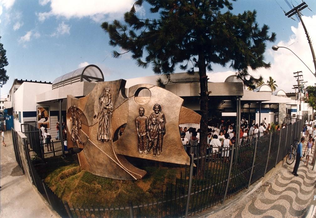 Também conhecida como Complexo Roma, Sede das Obras Sociais Irmã Dulce fica em Salvador — Foto: Divulgação/Osid