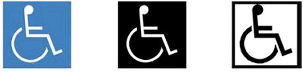 Um símbolo que todos conhecem e a maioria não respeita... — Foto: Divulgação