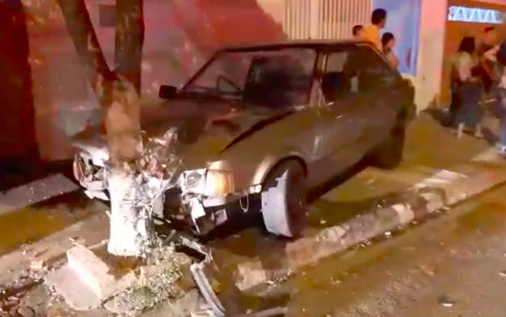 Vídeo mostra família atropelada na calçada após rezar terço em Serrana, SP