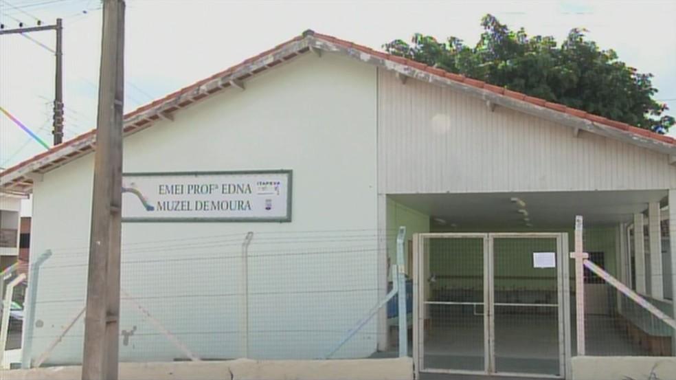 Emei Professora Edna Muzel de Moura vai ficar fechada até 15 de abril — Foto: Reprodução/TV TEM