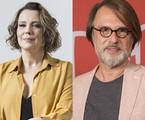 Ana Beatriz Nogueira e Fernando Eiras | Ana Branco/O Globo e Estevam Avellar/TV Globo