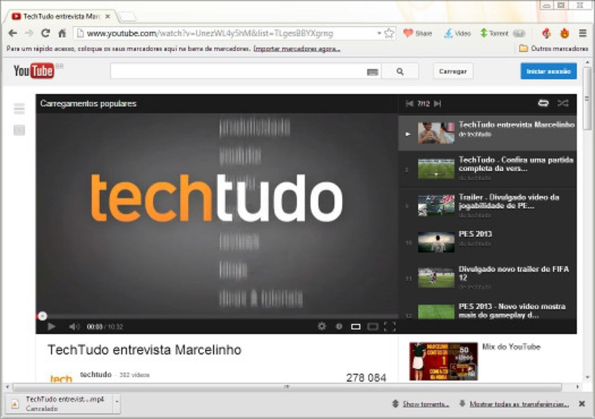 Torch Browser | Download | TechTudo