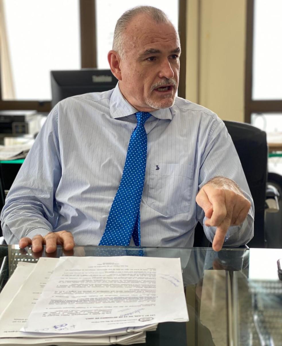 Hormindo Bicudo Neto é o controlador-geral do Estado do Rio  — Foto: Edmar Figueiredo/Assessoria de Imprensa-CGE/RJ