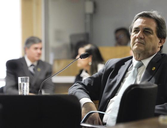 O senador Waldemir Moka (PMDB-MS) (Foto: Lia de Paula/Agência Senado)