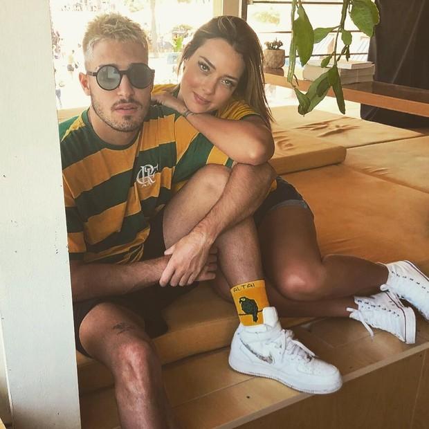 Carol Dantas e Vinicius  (Foto: Reprodução/Instagram)