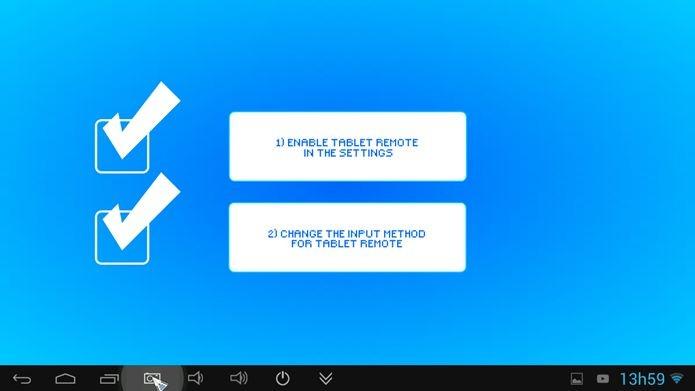 Clique em Setup no menu inicial do app para acessar essas duas opções (Foto: Reprodução / Dario Coutinho)