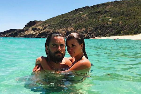 O empresário Scott Disick com a namorada, Sofia Richie (Foto: Instagram)