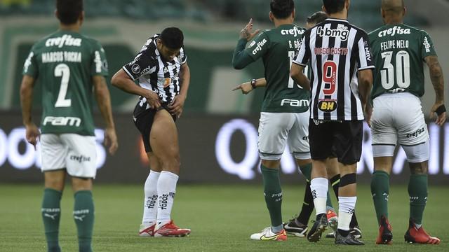 Hulk em Palmeiras x Atlético-MG