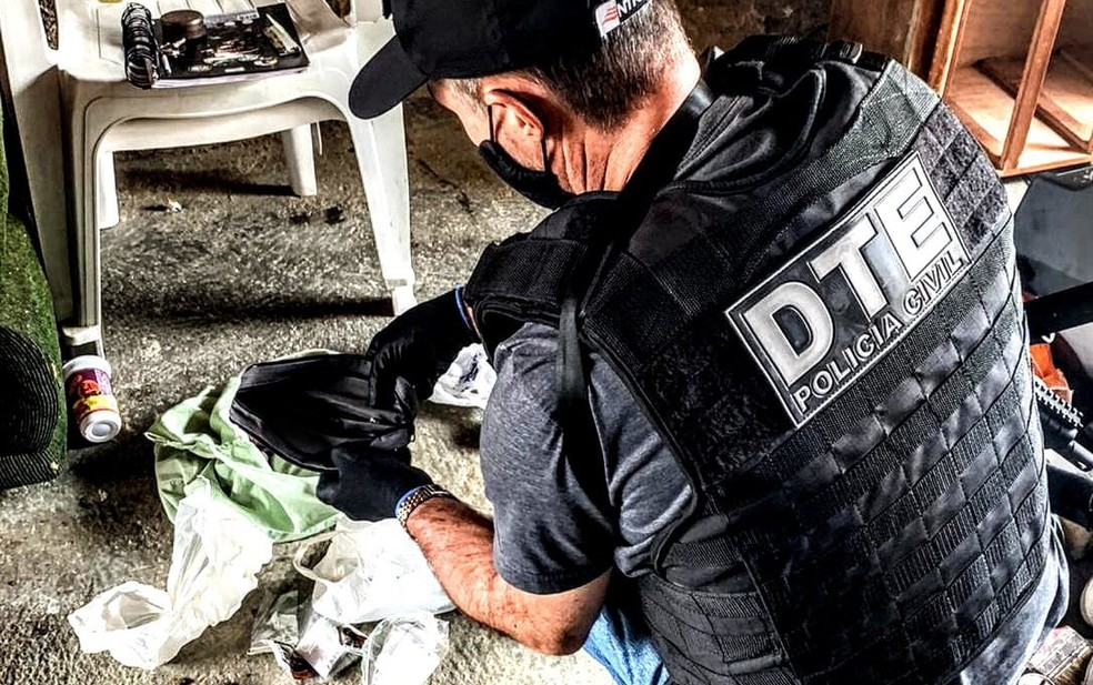 Ação foi realizada por investigadores da delegacia territorial da cidade — Foto: Divulgação/SSP-BA
