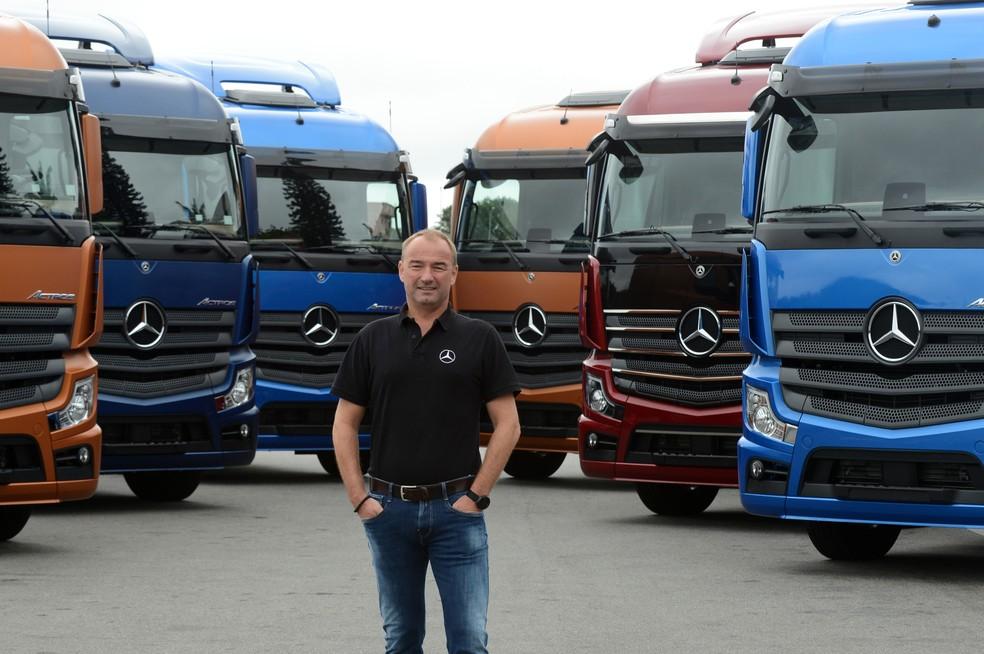 Philipp Schiemer, presidente da Mercedes-Benz do Brasil — Foto: Divulgação