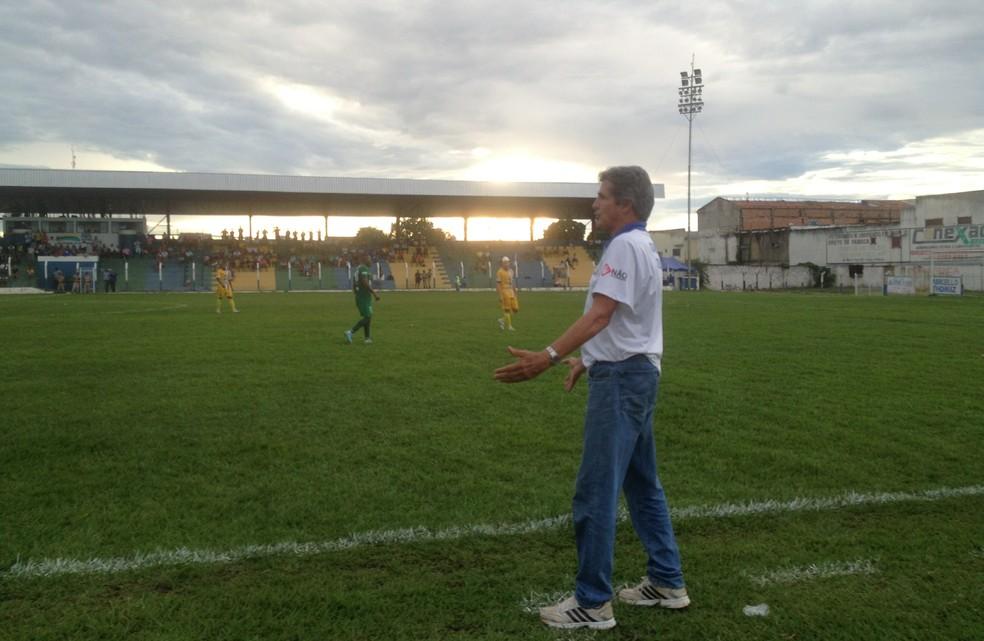 Roberto Oliveira retorna ao Interporto após dois anos  (Foto: Vilma Nascimento/GloboEsporte.com)