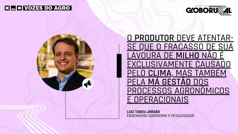 Vozes do Agro - Luiz Tadeu Jordão (Foto: Estúdio de Criação)