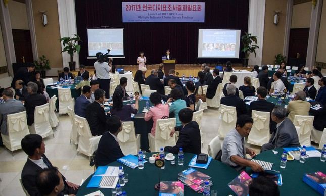 Estudo da Unicef foi apresentado durante encontro em Pyongyang