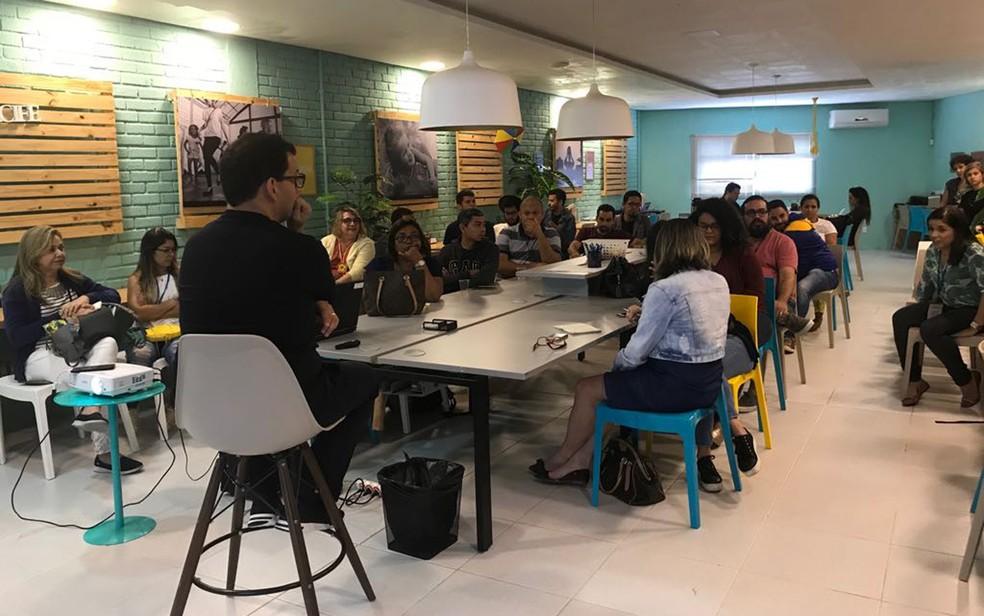 No Recife, o Porto Social tem proposta de incubar ONGs e incentivar voluntriado (Foto: Givysson Rodrigues/Divulgação)