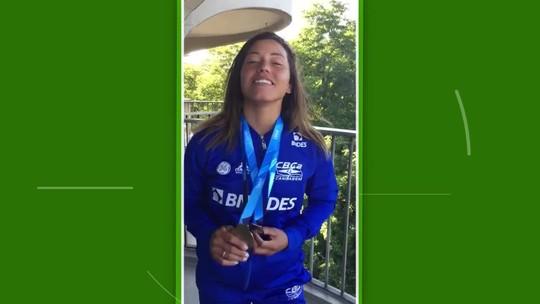Ana Sátila ganha ouro e bronze na etapa da Alemanha da Copa do Mundo