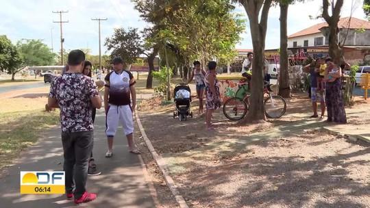 Moradores são multados após reformarem praça em Ceilândia