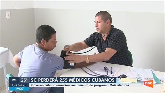 Decisão de Cuba de deixar programa Mais Médicos deve afetar cerca de 200 municípios de SC