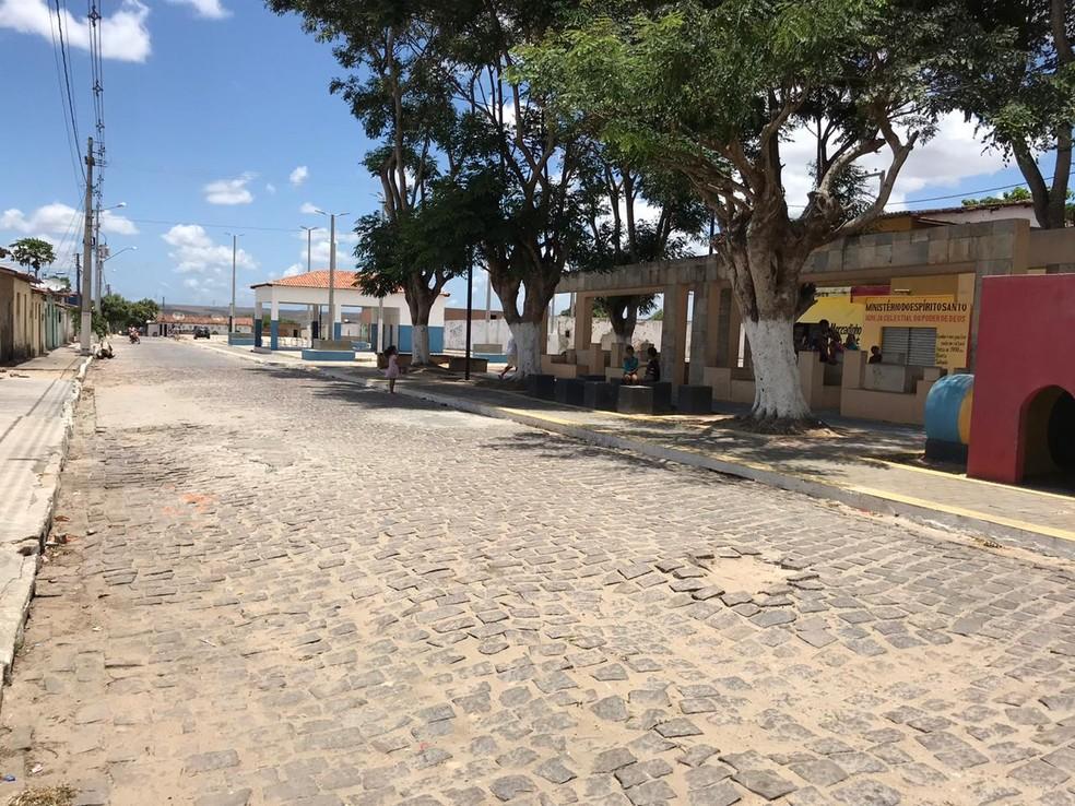 Crime aconteceu em Montanhas, no Agreste potiguar — Foto: Ayrton Freire/Inter TV Cabugi