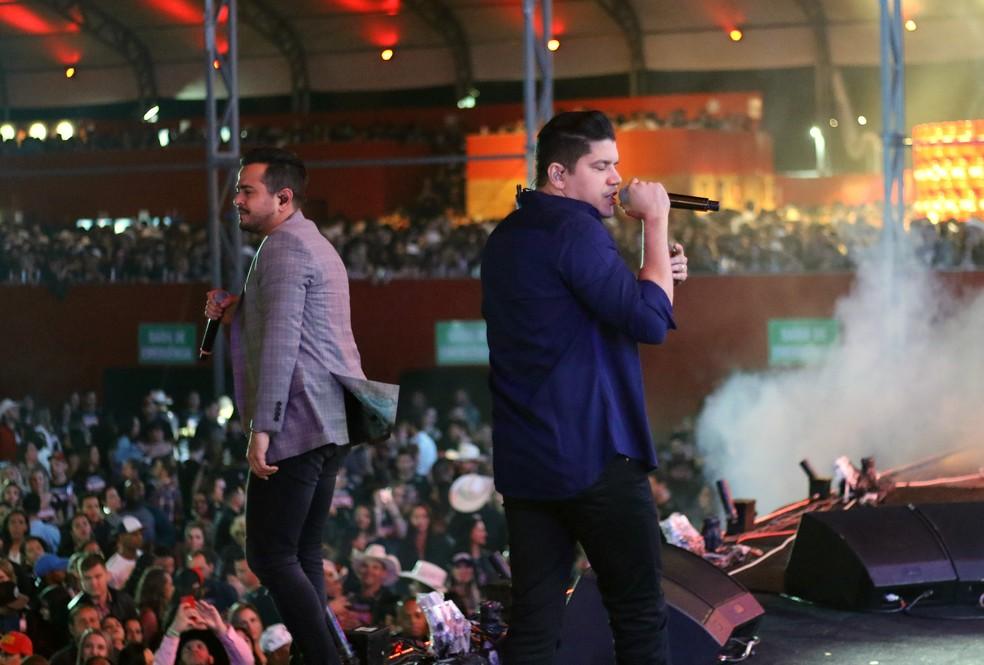 Henrique e Diego — Foto: Pedro Amatuzzi/G1