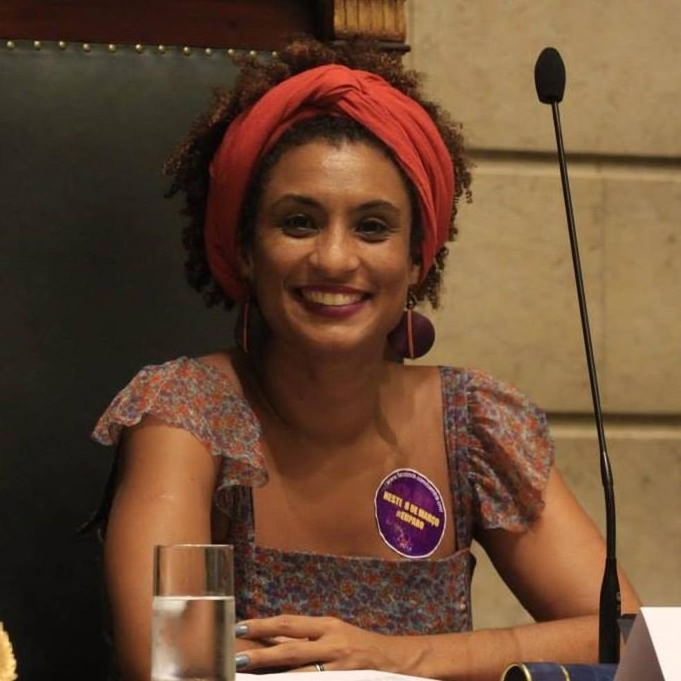 Marielle Franco foi a quinta vereadora mais votada do Rio (Foto: Reprodução Facebook Oficial)