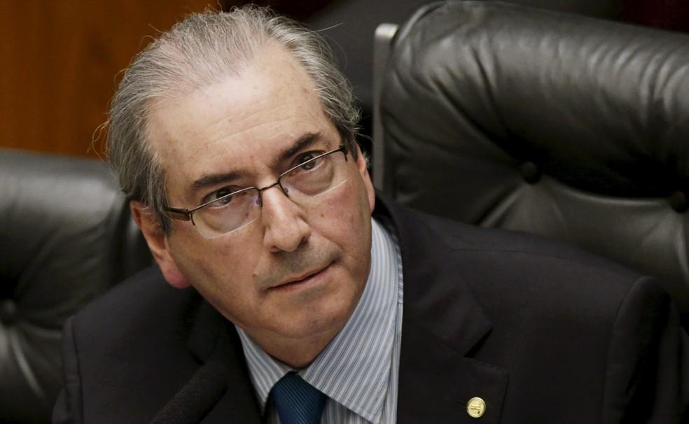 O deputado cassado Eduardo Cunha, ex-presidente da Câmara (Foto: Ueslei Marcelino/Reuters)
