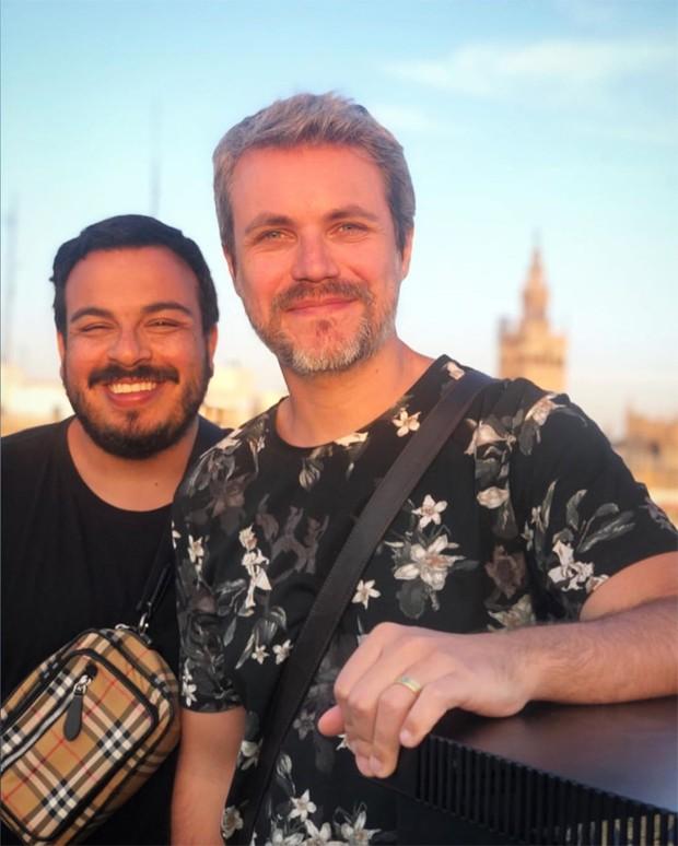 Luis Lobianco e o marido,  Lúcio Zandonadi (Foto: Reprodução / Instagram)