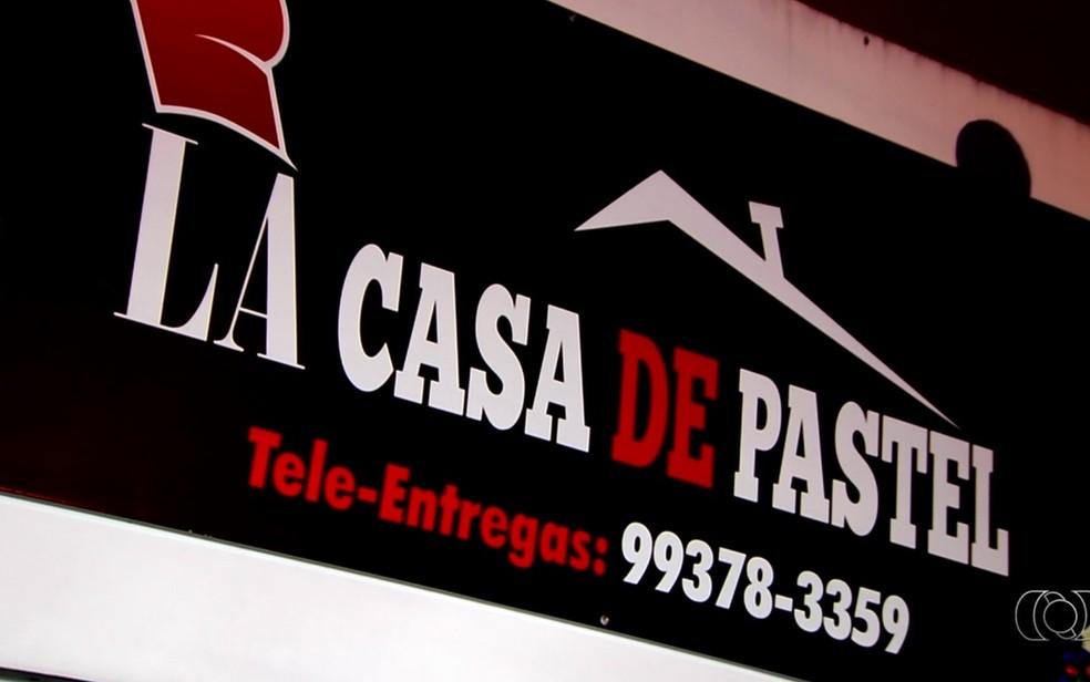 -  Inspirada em série espanhola, irmãos criam   39;La Casa de Pastel  39; e fazem sucesso em Goiânia  Foto: TV Anhanguera/Reprodução
