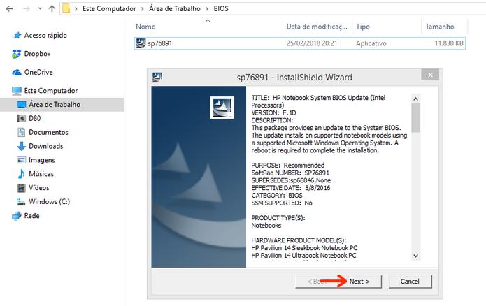Como entrar e atualizar a BIOS de um notebook da HP | Notebooks