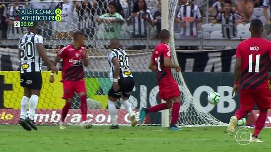Galo x Athletico: veja os milagres de Santos, o golaço de Vitinho e os lances da 34ª rodada