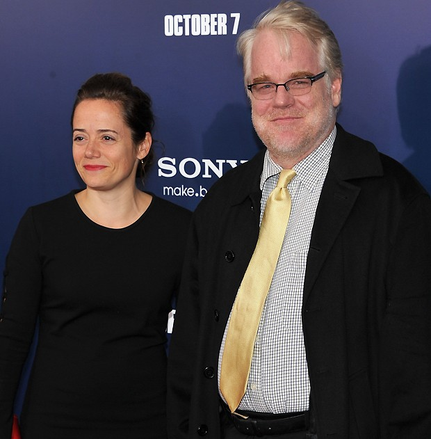 Mimi O'Donnel e Philip Hoffman (Foto: Getty Images)