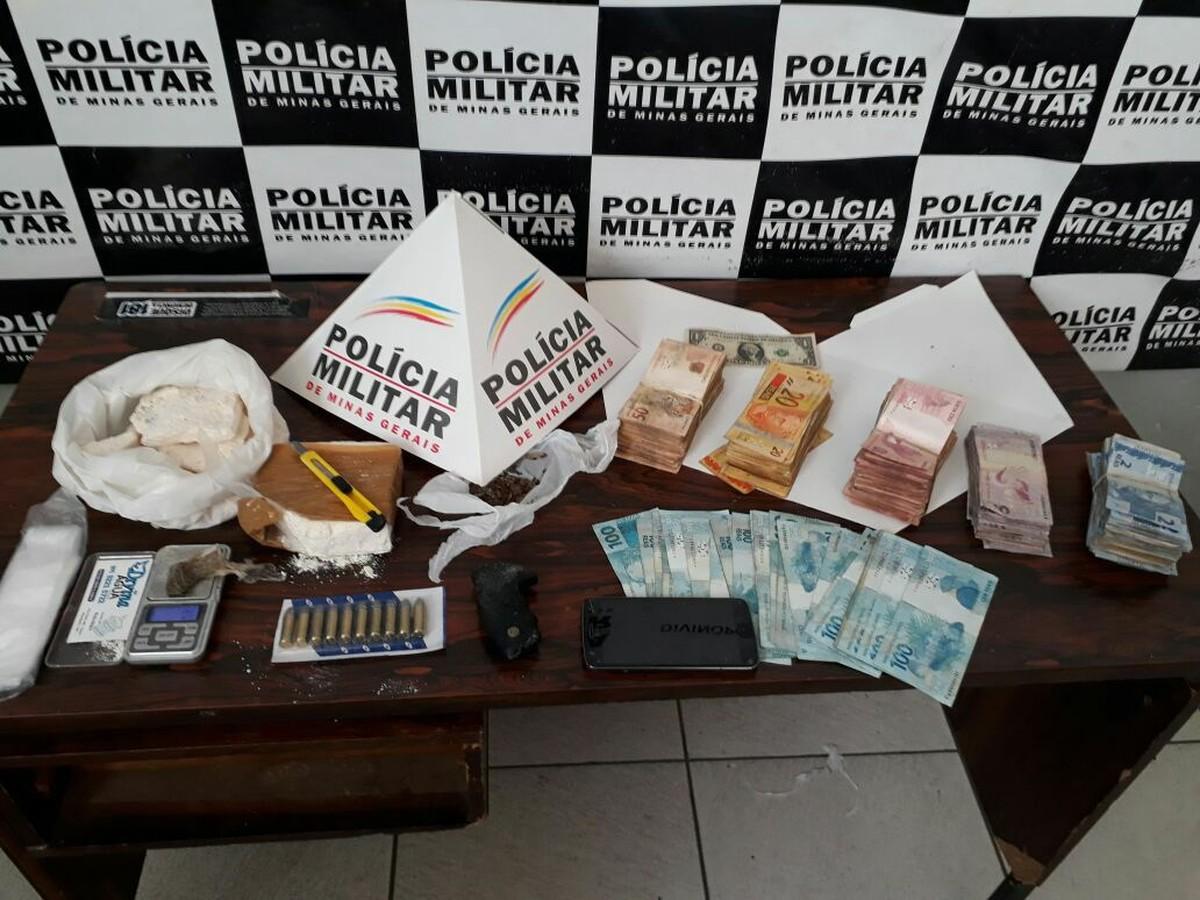 Jovem é preso suspeito de usar depósito de distribuição de água para vender drogas em Divinópolis