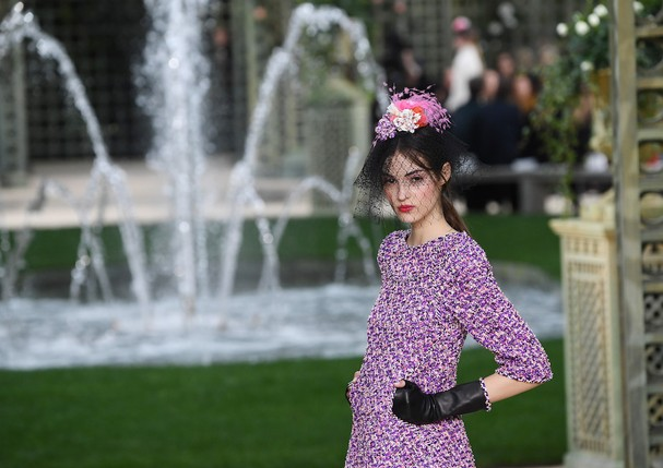 Desfile de alta-costura da Chanel - verão 2018 (Foto: Getty Images)